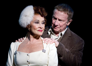 Chita Rivera and George Hearn in The Visit