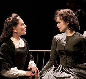 Ellen O'Hara and Jill Paice in Gone With the Wind