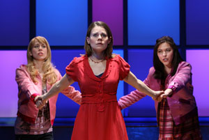 Mary Faber, Celia Keenan-Bolger, and