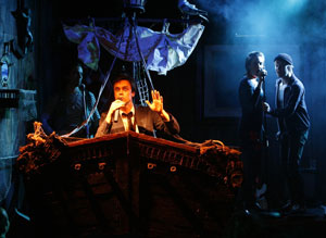 Nick Jones and company in Jollyship the Whiz-Bang