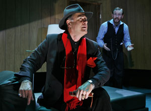 Mark Pinter and Brad Fraizer in Three on a Couch