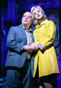 Jared Gertner and Jenny Fellner