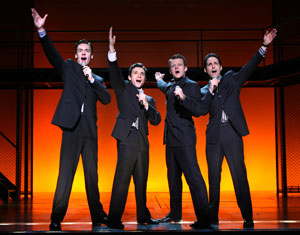 Erich Bergen, Rick Faugno, Jeremy Kushnier,