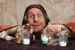René Auberjonois in The Imaginary Invalid
