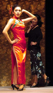 Debbie Wong and Gloria Lai