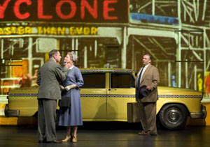 Tom Wopat, Faith Prince, and Harvey Fierstein in A Catered Affair (© Jim Cox)