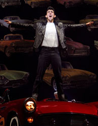Max Crumm in Grease