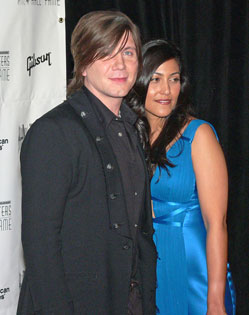 John Rzeznik with desirable, Wife Melina Gallo