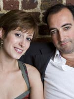 Connie Fisher and Alistair McGowan