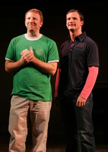 Hunter Bell and Jeff Bowen