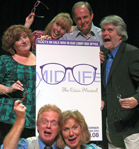 The cast of Mid Life! The Crisis Musical