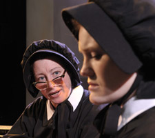 Kimberly King and Kristin Stokes in Doubt, A Parable (© David Allen)