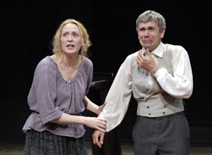 Jan Maxwell and David Barlow