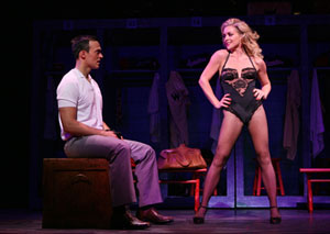 Cheyenne Jackson and Jane Krakowski
