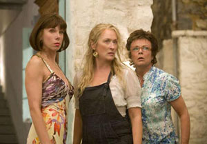 Christine Baranski, Meryl Streep, and Julie Walters