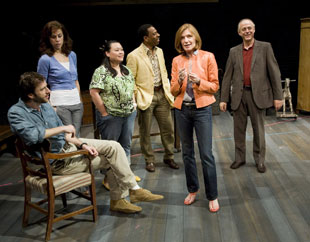 James Waterston, Jennifer Regan, Carmen R. Herlihy,Dathan R. Williams, Susan Sullivan, and Mark Blum in Buffalo Gal