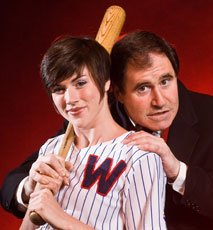 Lindsay Roginski and Richard Kind