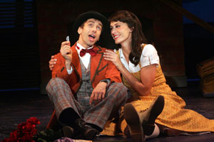 Jon Peterson and Sara Gettelfinger in Half a Sixpence