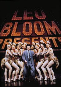 Leo Bloom (Matthew Broderick) lives out his fantasy in The Producers(Photo: Paul Kolnik)