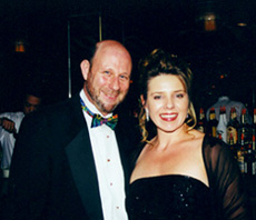 Rick Steiner with his wife, Jan