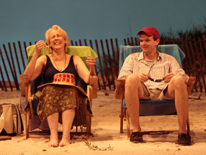 Harriet Harris and Dashiell Eaves in Not Waving (&co