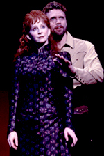 Reba McEntire and Brent Barrettin Annie Get Your Gun(Photo: Carol Rosegg)
