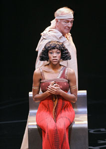 Christopher Plummer and Nikki M. James