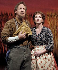 Steve Blanchard and Melissa Gilbert
