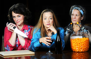 Emily Townley, Amy McWilliams, and Naomi Jacobson