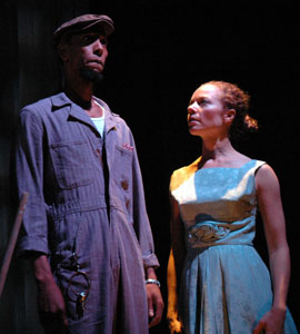 Ron Cephas Jones and Gin Hammond