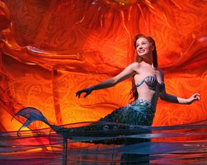 Sierra Boggess in The Little Mermaid