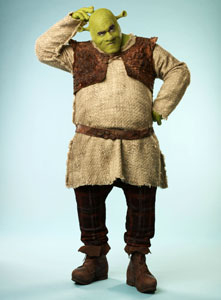 Brian D'Arcy James in Shrek