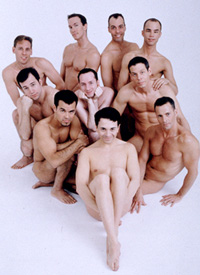 The cast of Naked Boys Singing(Photo: Tim Schultheis)