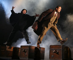 Cliff Saunders and Sam Robards