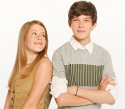 Allie Trim and Graham Phillips