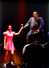 Janine LaManna and Kevin Chamberlin