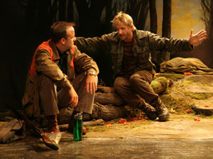 David Wilson Barnes and Paul Sparks in Lady