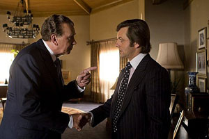 Frank Langella and Michael Sheen in Frost/Nixon