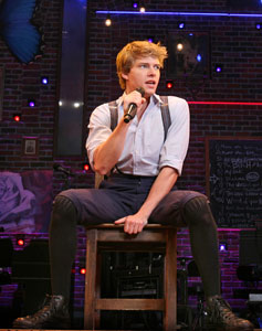 Hunter Parrish in Spring Awakening