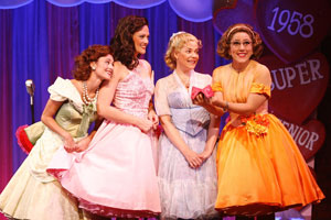 Beth Malone, Victoria Matlock, Bets Malone, and Farah Alvin