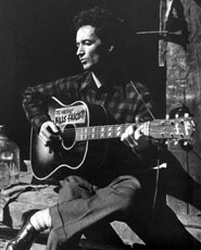 Woody Guthrie (Courtesy Woody Guthrie Archive)