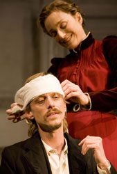 Mackenzie Crook and Kristin