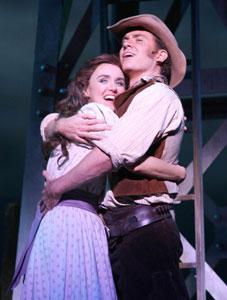 Brynn O'Malley and Adam Monley