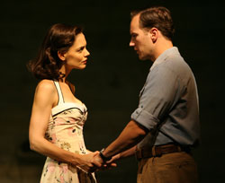 Katie Holmes and Patrick Wilson in All My Sons