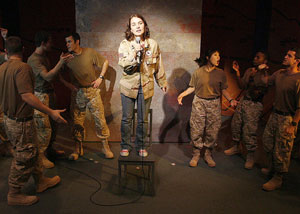 Amanda Holston and company in In Conflict