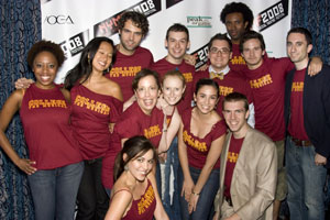 The cast of College: The Musical