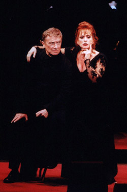 George Hearn and Patti LuPonein the New York Philharmonic?s Sweeney Todd(Photo: Chris Lee)