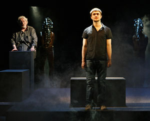 Richard Griffiths and Daniel Radcliffe in Equus