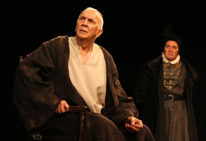 Frank Langella and Zach Grenier