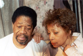 Willis Burks and Ruby Dee in Saint Lucy's Eyes
